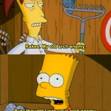 Get Over Yourself, Bart!