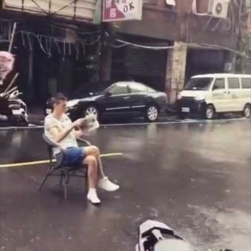 What Not to Do In the Middle of a Typhoon