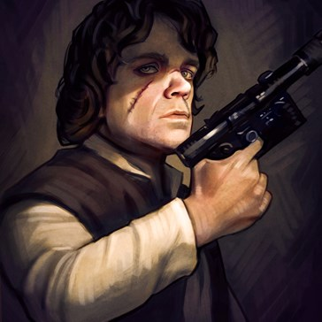 "This ""Game of Star Wars"" Artwork is Every Nerd's Wet Dream"