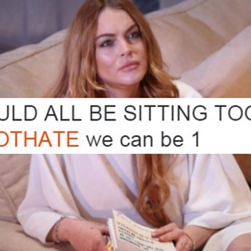 Lindsay Lohan Was the Real MVP When It Came to Live Reporting the Brexit Vote