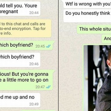 "Woman Trolls Some Sorry Stranger After a Text Claims ""Your Boyfriend Made Me Pregnant"""
