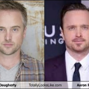Josh Daugherty Totally Looks Like Aaron Paul