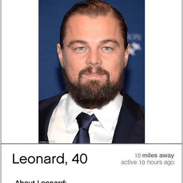 Leonardo DiCaprio Might Be 'Obsessed' With Tinder
