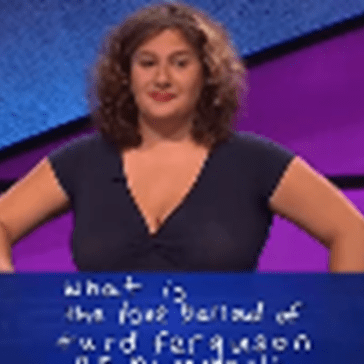 Jeopardy of the Day: A Contestant Actually Got Alex Trebek to Say 'Turd Ferguson' on Air