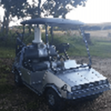 Great Scott of the Day: Fans Build a Back to the Future Golf Cart