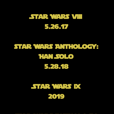 Mark Your Calendars: Release Dates for the Next Few Star Wars Films Have Been Released