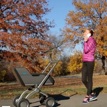 With This Smart Stroller For Just Over $3,000 You Will Barely Have to Touch Your Child At All