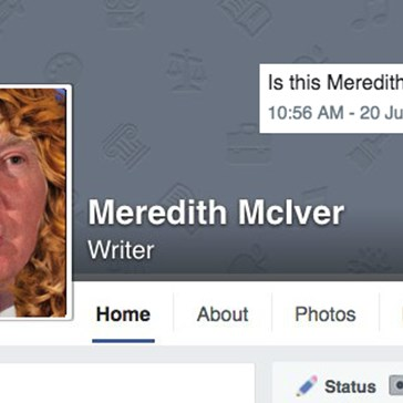 Is Trump's Mysterious Speech Writer Meredith McIver Fake?
