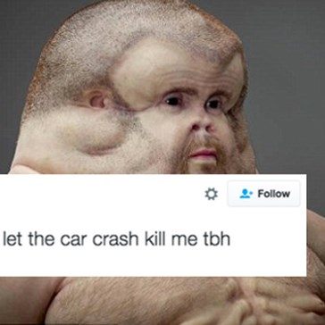 The Internet Reacts to Graham, an Indestructible Humanoid Designed to Survive Car Crashes