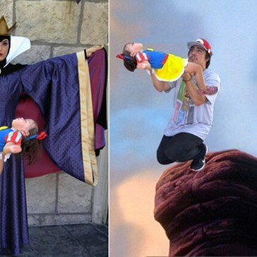 This Dad Took His Daughter to Disneyland and the Internet Made Her Dreams/Nightmares Come True