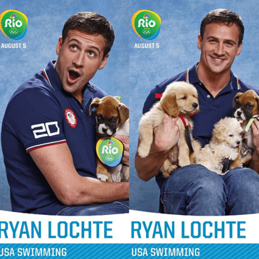 Athletes Pose With Puppies Ahead of the Rio Olympic Games Because... Well, We're Actually Not Sure