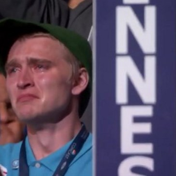 Crying Bernie Supporters at the DNC Didn't Escape the Night Without the Internet Noticing
