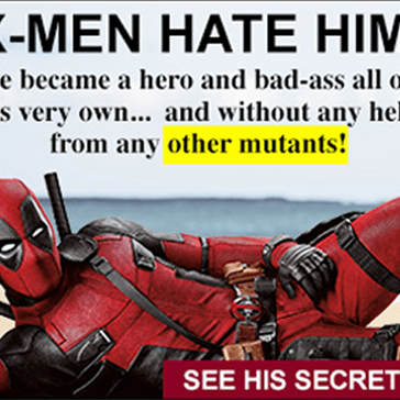You Won't Believe What Deadpool's Done This Time. The Answer Will Shock You!