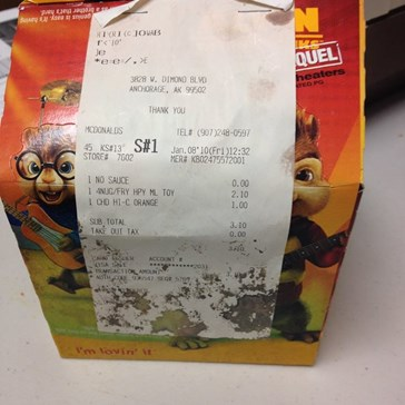 This Disgusting 6-Year-Old Happy Meal Will Make You Rethink What You Eat