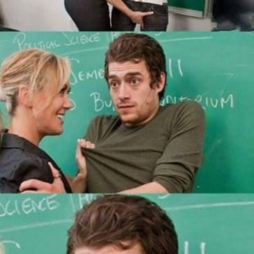 Cuando estás en el aula equivocada
