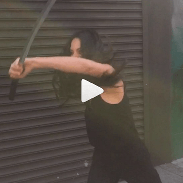 Olivia Munn and Ryan Reynolds Demonstrated a Psylocke v. Deadpool Scenario on Instagram