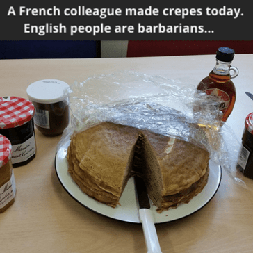 Everyone Knows French Pancakes Give People the Crepes