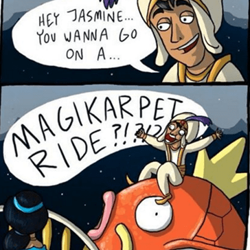 Who Could Say No to a Magikarpet Ride?