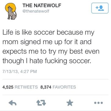 Life is Like Children's Soccer