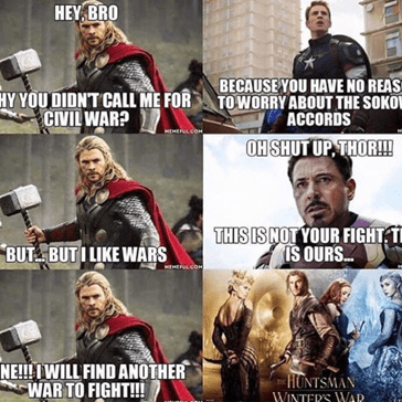 Thor Found His War After All