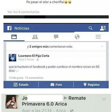 Navegando por Facebook cuando...