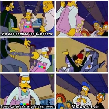 En Argentina sacan del aire a Los Simpsons e internet responde