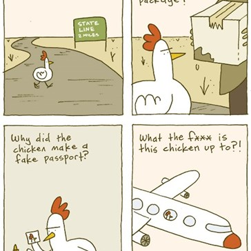 Guys, It's Time to Take the Chicken's Ulterior Motives More Seriously