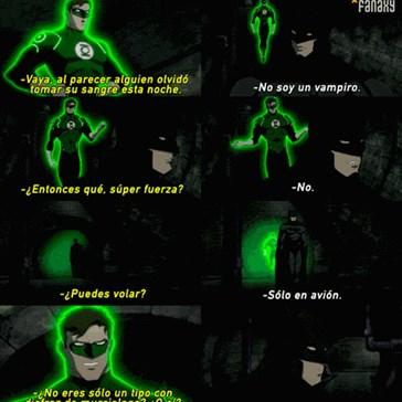 Linterna Verde es un tonto...