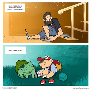 Obviously Your Day Was Lacking yet Another Comic About PokéMon GO