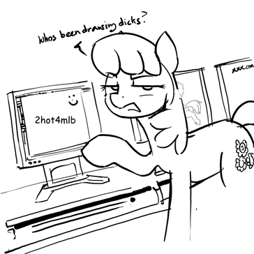 Meanwhile in the Ponyville school...