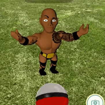 Was Dwayne 'The Rock' Johnson Just Revealed in Pokémon GO?