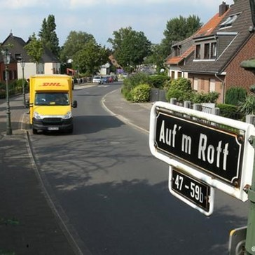 Düsseldorf Residents In This Street Ordered to Pay Up for 'Hitler Asphalt'