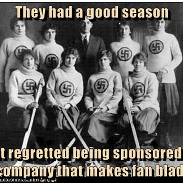 They had a good season  but regretted being sponsored by a company that makes fan blades