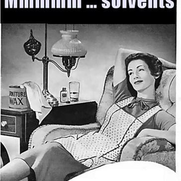 Mmmmm … solvents
