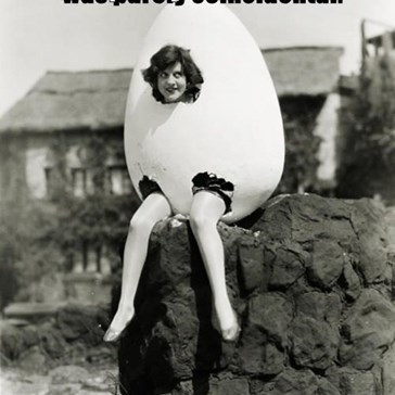 The similarity to Humpty Dumpty was purely coincidental.  Peggy had a problem.