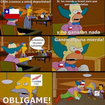 Pobre Chile, regresó a la casa con las manos vacías