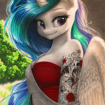 Sleeve Tattoo Celestia
