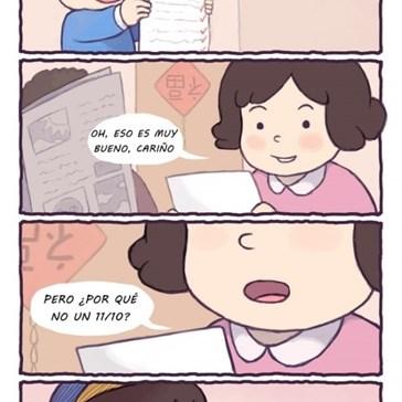 Algunos padres son muy exigentes