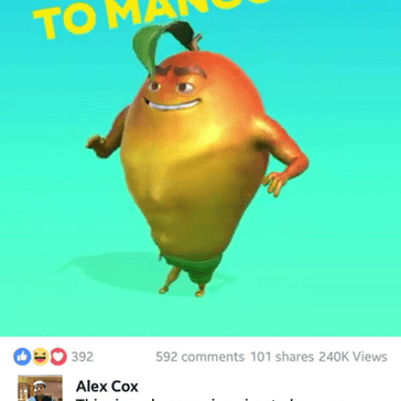 Sleep With One Eye Open... Mr Mango Is Coming