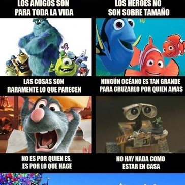Las enseñanzas de Pixar