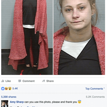 You Know You Have Zero Chill When You're Asking the Police To Use a Better Mugshot