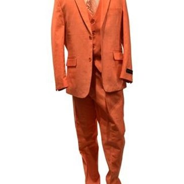Boys Formal Wear Suit - Orange