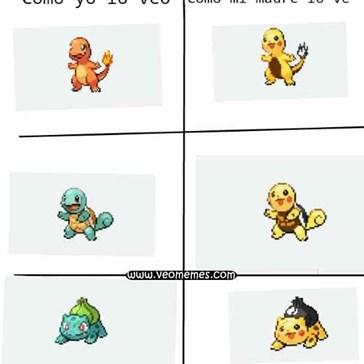 Para ella, todos son Pikachu