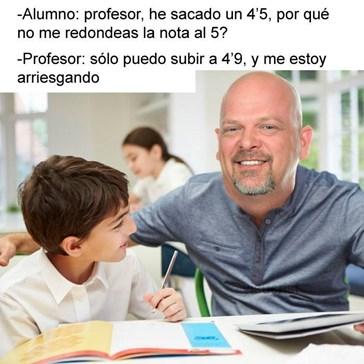 Sabes que tu profesor es un troll cuando...