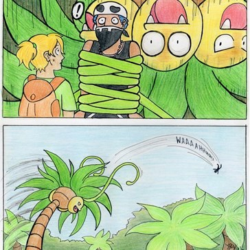 Exeggutor is Flexible!