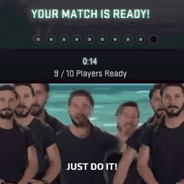 Queuing for Competitive In CS:GO Be Like