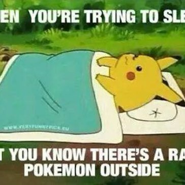 Sleep Was Always Overrated Anyways, Amirite?