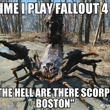 Fallout 4 Logic Be Like