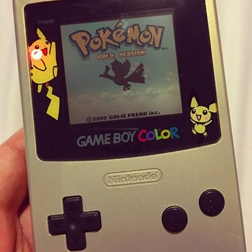Very Jealous of This Lucky Soul That Found Their Old (Still Working) Pokémon Edition Gameboy!