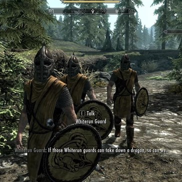 Please Never Change, Skyrim